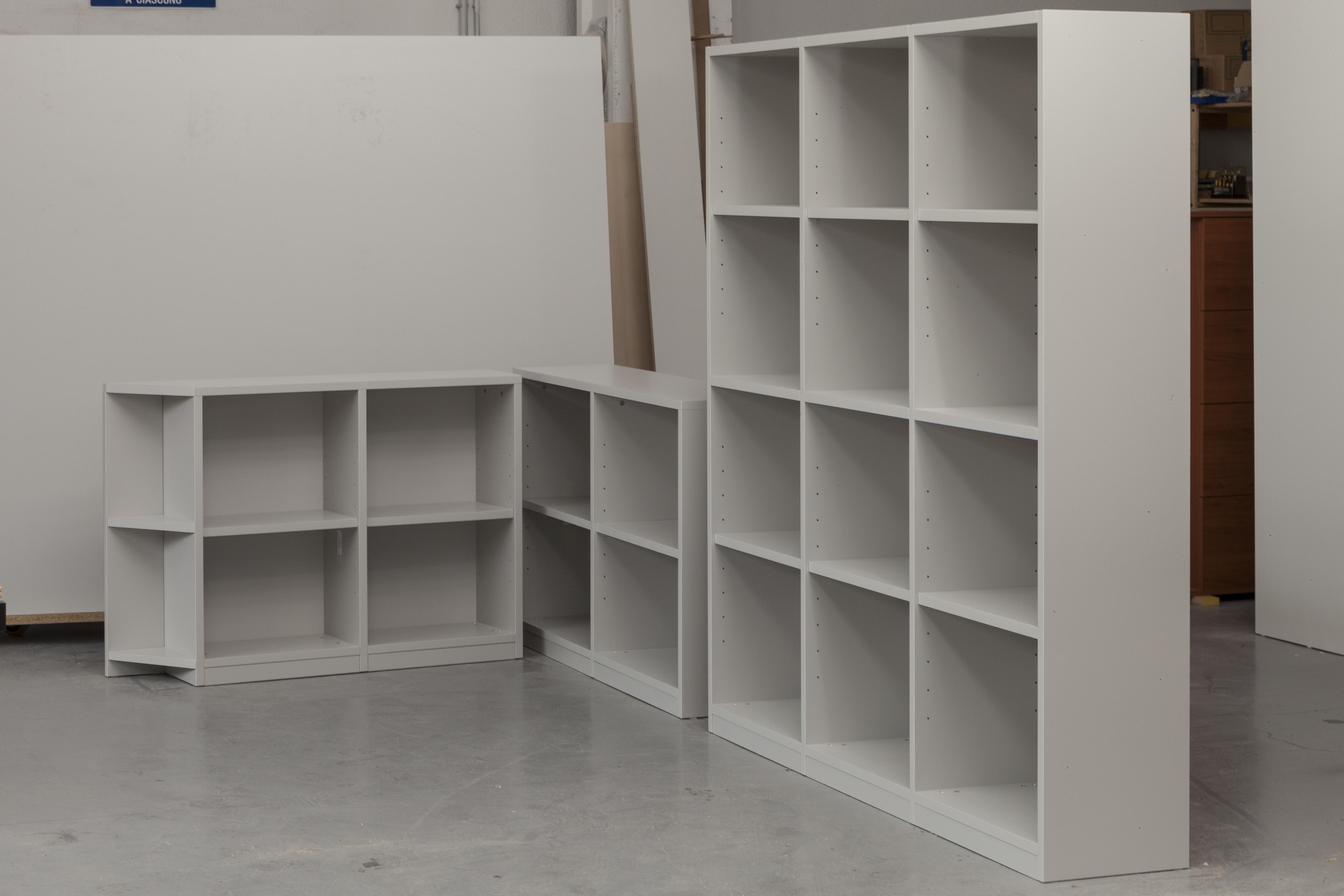 libreria a 3 moduli a